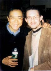 Jay Wollin and cellist Yo Yo Ma